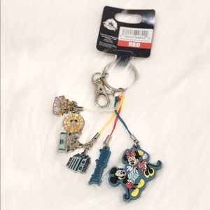 Disney parks attractions keychain